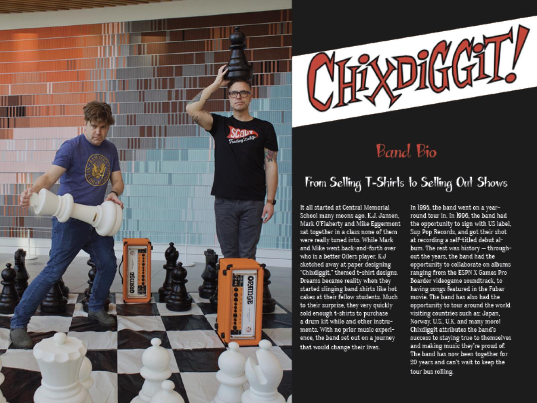 Chixdiggit Press Kit