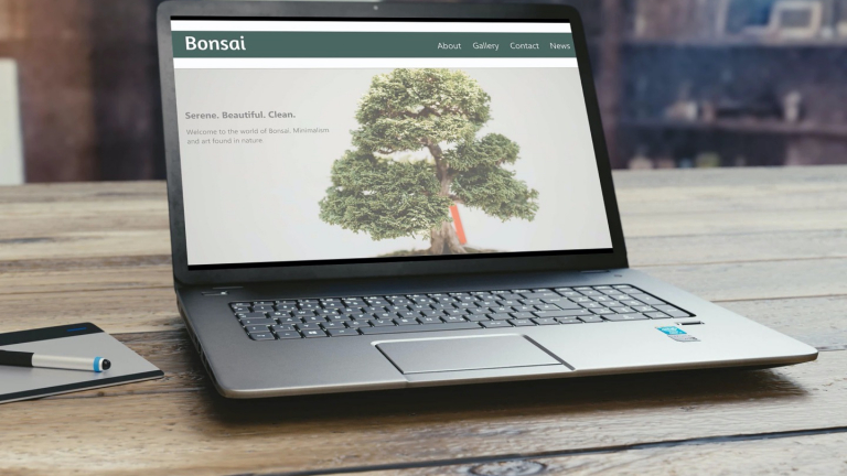 Bonsai Website